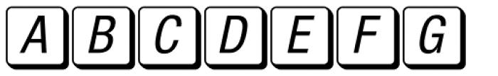 MacKeyCaps Font LOWERCASE