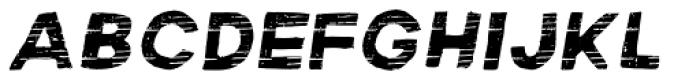 Macabro Style Italic Font UPPERCASE