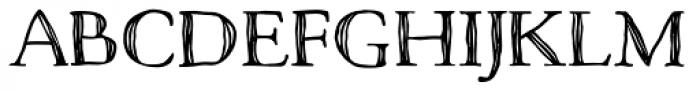 Macarons Bold Sketch Font UPPERCASE