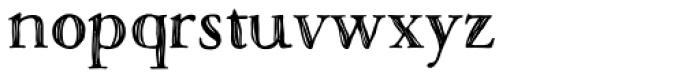 Macarons Bold Sketch Font LOWERCASE