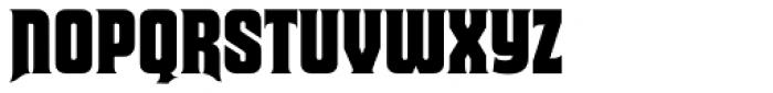 Macbeth Pro Font UPPERCASE