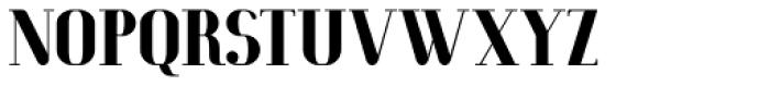 Macchiato Font UPPERCASE
