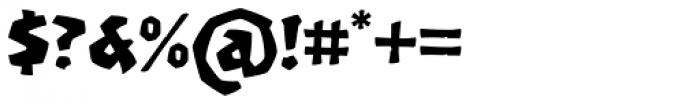 Machete Pro Font OTHER CHARS