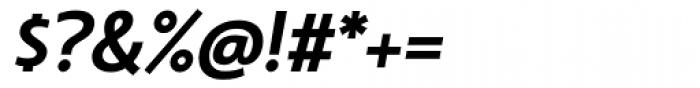 Machinato Bold Italic Font OTHER CHARS