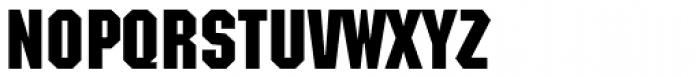Machine Medium Font UPPERCASE