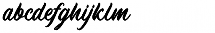 Machineat Bold Font LOWERCASE