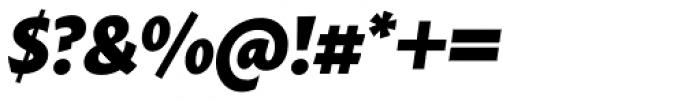 Macho Black Italic Font OTHER CHARS