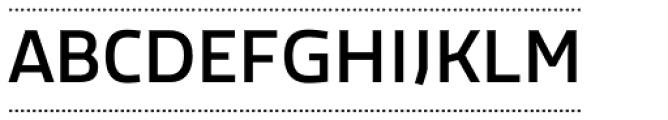 Macho Box Dash Medium Font UPPERCASE