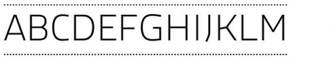 Macho Box Dash Thin Font UPPERCASE