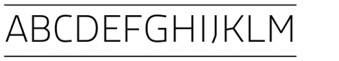 Macho Box Thin Font UPPERCASE