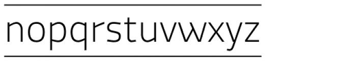 Macho Box Thin Font LOWERCASE