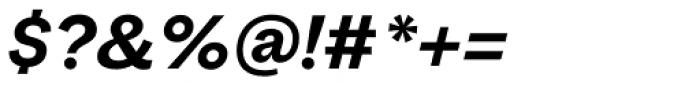 Macklin Sans Bold Italic Font OTHER CHARS