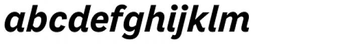 Macklin Sans Bold Italic Font LOWERCASE
