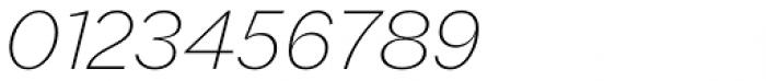 Macklin Sans Extra Light Italic Font OTHER CHARS