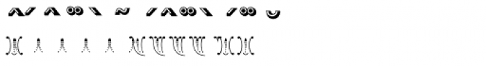 Madame Accents Font UPPERCASE