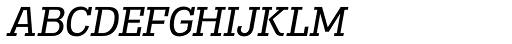 Madawaska Book Italic SC Font LOWERCASE
