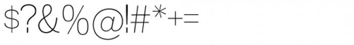 Madawaska ExtraLight Font OTHER CHARS