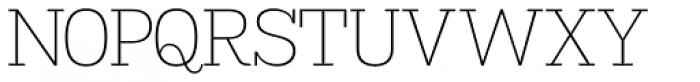 Madawaska ExtraLight Font UPPERCASE