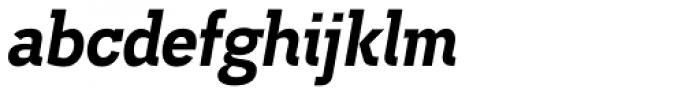 Madawaska Heavy Italic Font LOWERCASE
