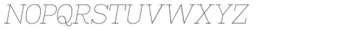 Madawaska UltraLight Italic SC Font LOWERCASE