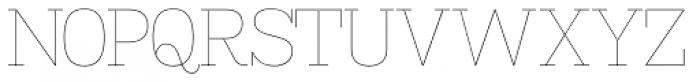 Madawaska UltraLight Font UPPERCASE