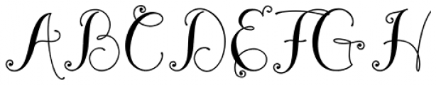 Madeleine Bold Font UPPERCASE