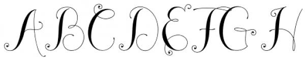 Madeleine Light Font UPPERCASE