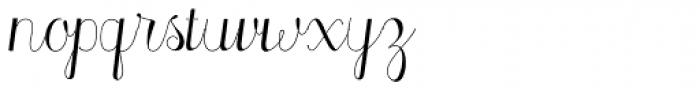 Madeleine Light Font LOWERCASE