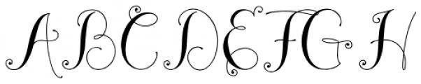 Madeleine Medium Font UPPERCASE
