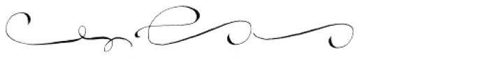 Madelinette Grande Vino Flourishes Font UPPERCASE