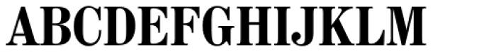 Madison Antiqua Pro Condensed Bold Font UPPERCASE