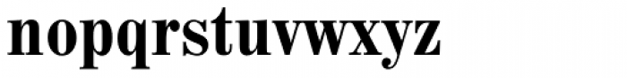 Madison Antiqua Pro Condensed Bold Font LOWERCASE