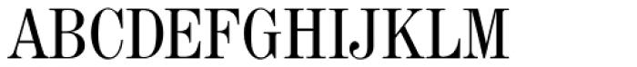 Madison Antiqua Pro Condensed Font UPPERCASE