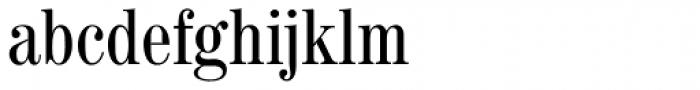 Madison Antiqua Pro Condensed Font LOWERCASE