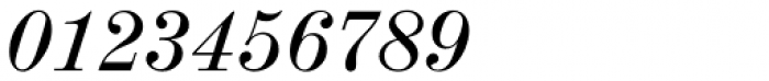 Madison Antiqua Pro Italic Font OTHER CHARS