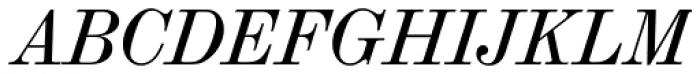 Madison Antiqua Pro Italic Font UPPERCASE