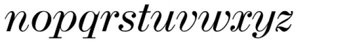 Madison Antiqua Pro Italic Font LOWERCASE