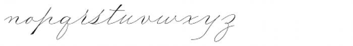Madison Street Stylistic Font LOWERCASE