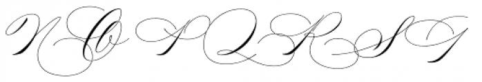Madison Street Font UPPERCASE