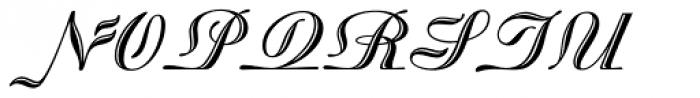 Madisonian Engraved Font UPPERCASE