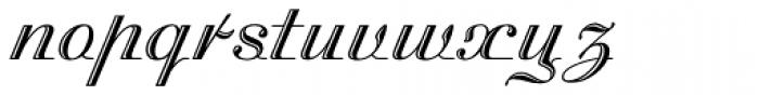 Madisonian Engraved Font LOWERCASE