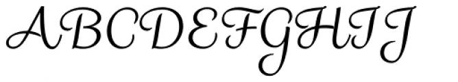 Madre Script Font UPPERCASE