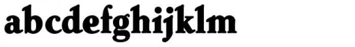 Madrid RR ExtraBold Font LOWERCASE