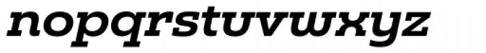 Madurai Slab Ext Bold Italic Font LOWERCASE