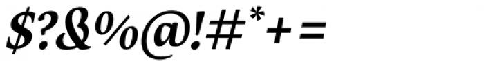 Maecenas Bold Italic Font OTHER CHARS