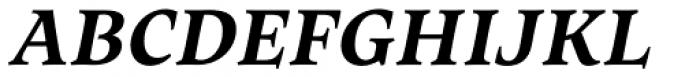 Maecenas Bold Italic Font UPPERCASE