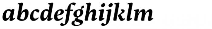 Maecenas Bold Italic Font LOWERCASE