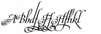 Maestro Extras Bold Font UPPERCASE
