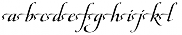Maestro Extras Bold Font LOWERCASE