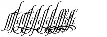 Maestro Ligatures Bold Font OTHER CHARS